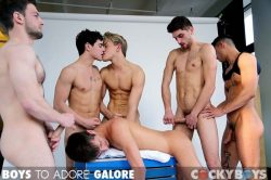 Boys To Adore Galore – Bravo Delta, Dillon Rossi, JD Phoenix, Jett Black, Levi Karter, Max Ryder, Ricky Roman (2013)