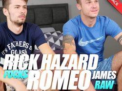 Rick Hazard Fucks Romeo James – Bareback (2017)