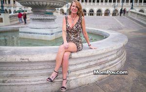 MomPOV | Classy GILF loves deep anal sex | Tessah | 2018