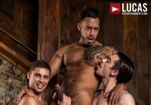 Viktor Rom Fucks His Boys, Klim Gromov And Jon Bae | Bareback | 2018
