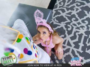 Mini Easter Bunny Babe Gets Slammed | Summer Brooks | 2018