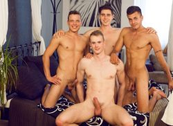 Wank Party #87 Part 1 RAW – Hugo Antonin, Adam Nezval, Nikola Donoval, Oliver Hruby (2017)