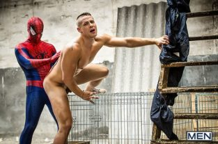 Spiderman: A Gay XXX Parody Part 2 – Will Braun Fucks Aston Springs (2017)