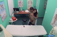 FakeHospital – Swallowing cum helps babes throat – Dominica Phoenix, Kristof Cale (FakeHub / 2017)