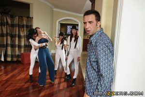 A Clockwork Whore: Part Two – Gia Dimarco, Madison Ivy, Zoe Voss & Keiran Lee (2011)